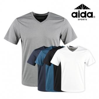 럭스골프 AI 스판 브이넥 티셔츠 RM9M414 (업체별도 무료배송)