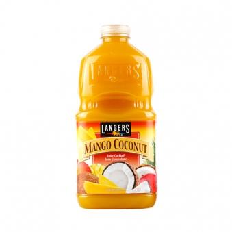 랭거스 망고코코넛 1.89L*8입 X 1박스 (업체별도 무료배송)
