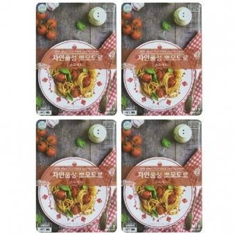 자연품성 뽀모도로 349g x 4팩 (업체별도 무료배송)