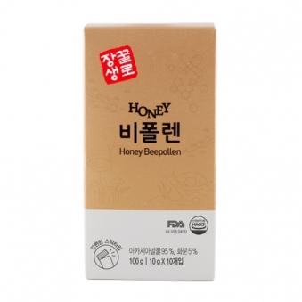 꽃샘 꿀로장생 허니비폴렌 10g x 10개입