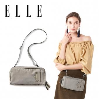 [주말특가] [ELLE] 뉴 라일라 크로스백 EF55802 GRAY (업체별도 무료배송)