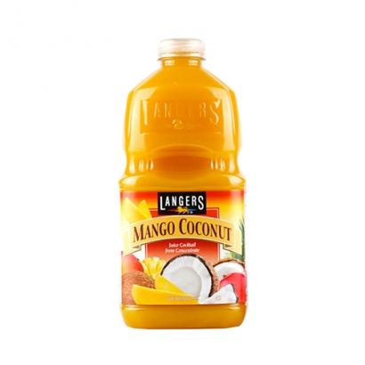 [추석연휴특가]랭거스 망고코코넛 1.89L*8입 X 1박스 (업체별도 무료배송)
