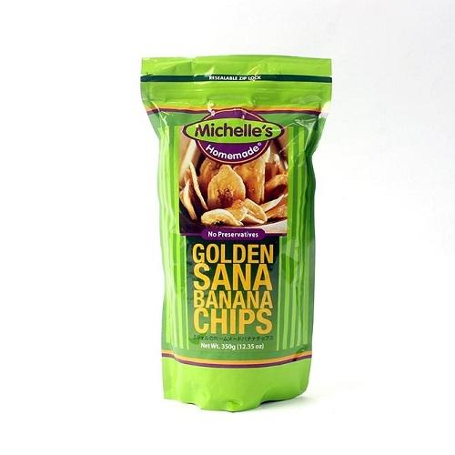 [핫딜] [백화점 판매상품] 골든사나 바나나칩스 350g x 3개 (업체별도 무료배송)
