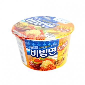 [주말특가]팔도비빔면 치즈컵108g*16입 (1박스) (업체별도 무료배송)