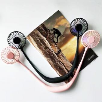 두손이 자유로운 LED넥밴드 선풍기 (화이트/핑크/블랙) (업체별도 무료배송)
