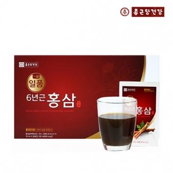 [종근당건강] 일품 6년근 홍삼 70ml*30포 + 쇼핑백포함 (업체별도 무료배송)