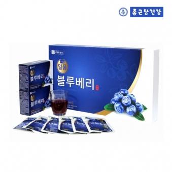 [종근당건강] 일품 블루베리 70ml*30포 + 쇼핑백포함 (업체별도 무료배송)