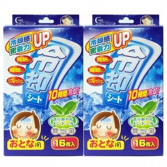 열냉각시트 성인용 16매 x 2개 (업체별도 무료배송)