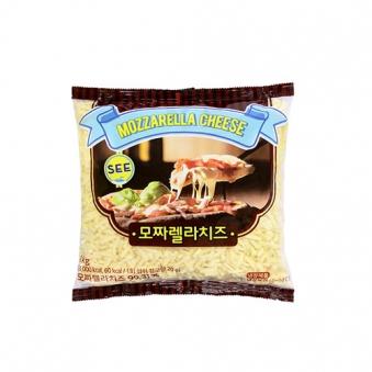 [한정수량] 모짜렐라 피자치즈 1kg x 2개 (업체별도 무료배송)