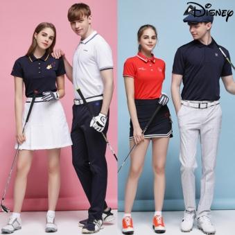 [시즌오프] [디즈니] 라운딩 카라 티셔츠 8종 택1(남성,여성) (업체별도 무료배송)