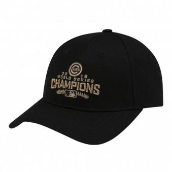 [,MLB] 시카고 컵스 월드 시리즈 우승 커브 캡 72CPAT711-02L (업체별도 무료배송)