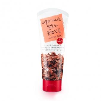 [이초이스] 피부가 마시는 발효차 클렌징폼 130g