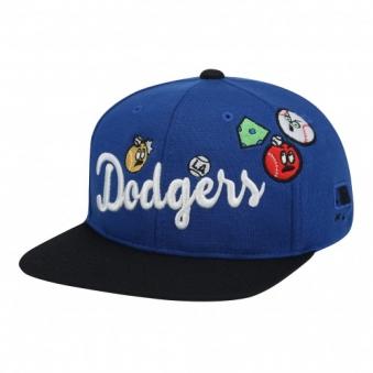 [,MLB] LA 다저스 와글와글 로고 평챙 72CPA5711-07U (업체별도 무료배송)