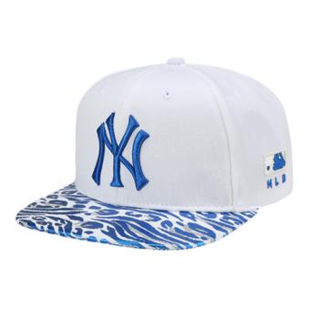 [,MLB] 뉴욕 양키즈 지브라 패턴 평챙 72CPFV711-50U (업체별도 무료배송)