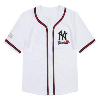 [MLB] 키즈 플라워 야구 저지 티셔츠 71BS42831-50W (업체별도 무료배송)