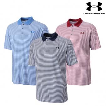 [언더아머] 남성 스트라이프 PK 티셔츠 10종 택1 (업체별도 무료배송)