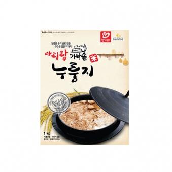 국내산쌀 99.8% 가마솥누룽지 1kg (업체별도 무료배송)