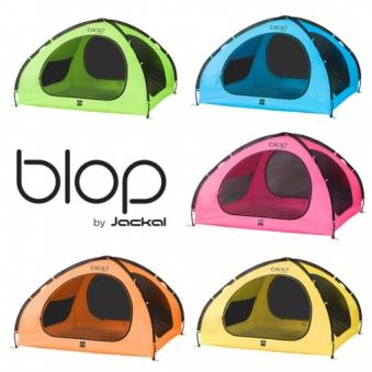 [타임특가] [JACKAL] 블랍 텐트 3~4인용 핑크/오렌지/그린/옐로우 택1 (업체별도 무료배송)