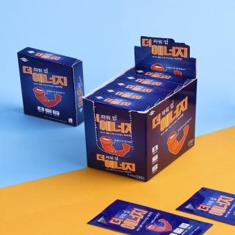 [다다익선] [편의점 판매상품] 더 에너지 파워업 필름 5개입 x 5박스 (업체별도 무료배송)