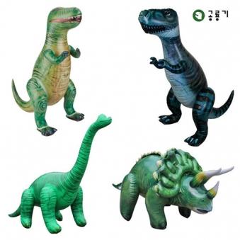대형 공룡튜브인형 (티라노사우르스/트리케라톱스/브라키오사우르스) (업체별도 무료배송)