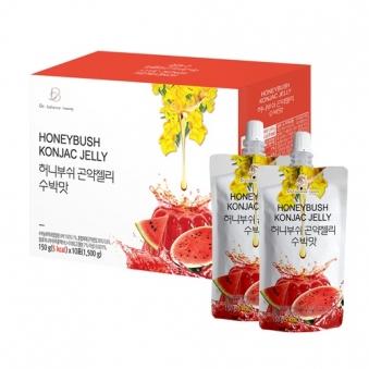 [주말특가] 허니부쉬 곤약젤리 수박맛 150g*10포 x 3박스(업체별도 무료배송)