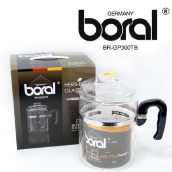 보랄 쇼트듀란 독일 유리 약탕기 3리터 br-gp300tb (업체별도 무료배송)