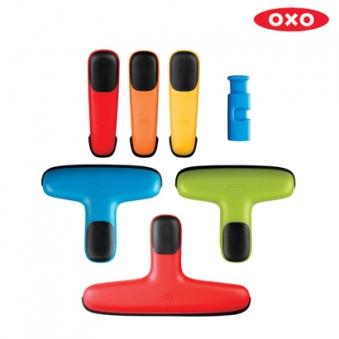 OXO 옥소 소프트웍스 주방용 봉지 클립 7종 세트 (업체별도 무료배송)