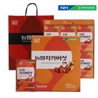 농협 차가버섯진액 70ml*30포+쇼핑백증정 (업체별도 무료배송)
