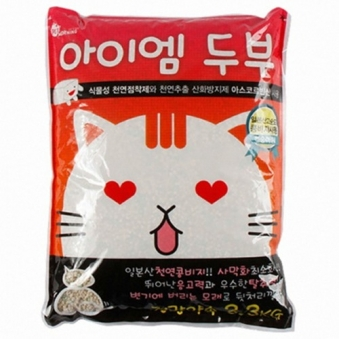 아이엠두부 모래 복숭아향 3.3kg (업체별도 무료배송)
