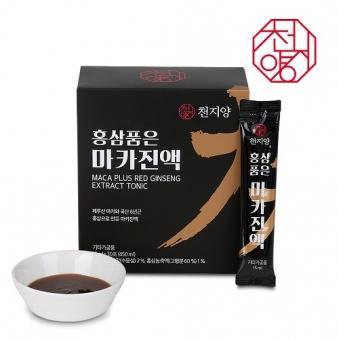 천지양 홍삼품은 마카진액 15ml x 30포 (450ml) (업체별도 무료배송)