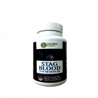 유비바이오 숫사슴 녹혈 냉동건조 분말캡슐 500ng*120캡슐 (업체별도 무료배송)