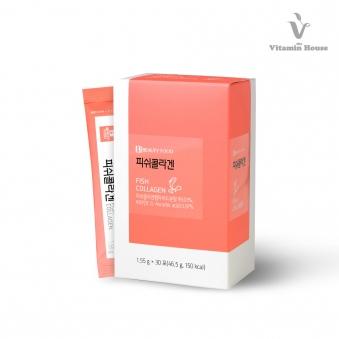 [비타민하우스] C피쉬콜라겐 1,550mg (30포) x 3박스 (업체별도 무료배송)