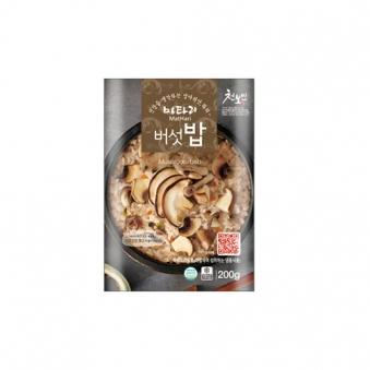 마타리 버섯밥 200g x 5팩 (업체별도 무료배송)