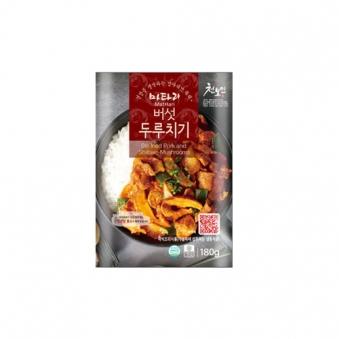 마타리 버섯두루치기 180g x 5팩 (업체별도 무료배송)