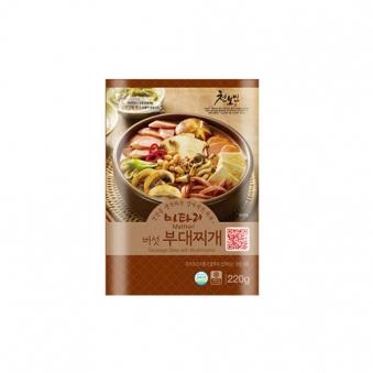 마타리 버섯부대찌개 220g x 5팩 (업체별도 무료배송)