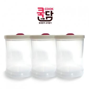 [코멕스] 쿡담 요리용기 480g*3개 (업체별도 무료배송)