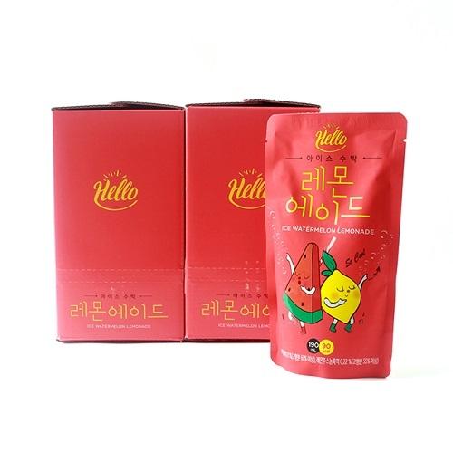 [다다익선] 아이스 수박 레몬에이드 190ml x 50개 (업체별도 무료배송)