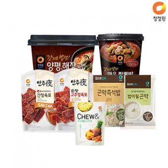 [핫딜] 청정원 유통임박 안주 초특가 모음전 (업체별도 무료배송)