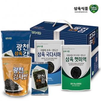 [삼육식품] 광천김 3호 선물세트 (업체별도 무료배송)