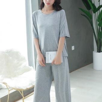 루즈핏 모달 잠옷 5부 세트 라운지웨어 (업체별도 무료배송)