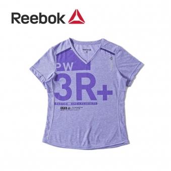 [★리복 의류균일가] 리복 여성 OS 코튼 브이넥 반팔 티셔츠 B88171(RB-B88171-00) (업체별도 무료배송)