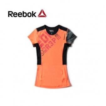 [★리복 의류균일가] 리복 여성 OS 컴프레션 반팔 티셔츠 AJ0641(RB-AJ0641-00) (업체별도 무료배송)