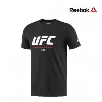 [★리복 의류균일가] 리복 남성 UFC FG 로고 반팔 티셔츠 BQ9284(RB-BQ9284-00) (업체별도 무료배송)