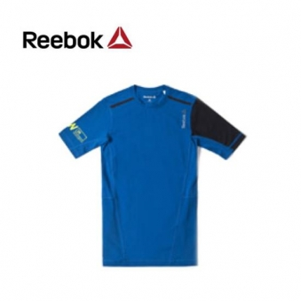 [★리복 의류균일가] 리복 남성 OS 퀵코튼 컴프레션 반팔 티셔츠 AA8235(RB-AA8235-00) (업체별도 무료배송)