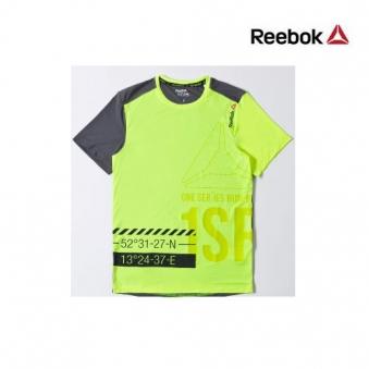 [★리복 의류균일가] 리복 남성 러닝 액티브칠 반팔 티셔츠 AX9325(RB-AX9325-00) (업체별도 무료배송)