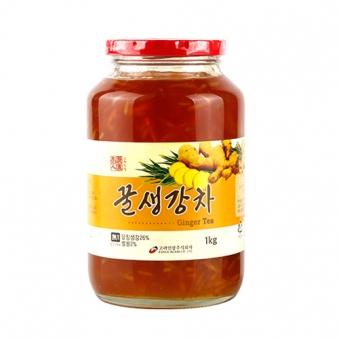 꿀생강차 1kg x 2개 (업체별도 무료배송)