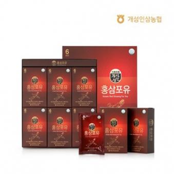 개성상인 홍삼포유 60ml x 30포+고급쇼핑백증정 (업체별도 무료배송)