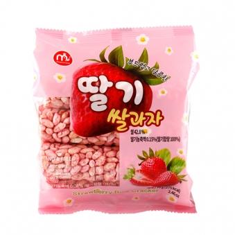 맘모스 딸기 쌀과자 70g