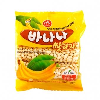 맘모스 바나나 쌀과자 70g