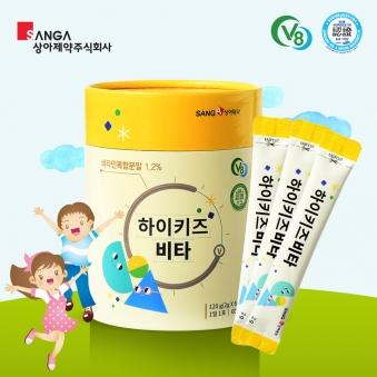 [상아제약] 쑥쑥튼튼 키즈비타 2g*60포 (업체별도 무료배송)